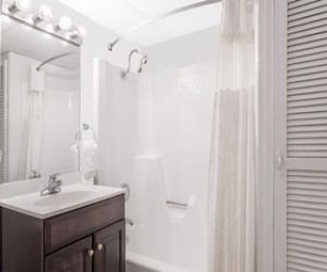 Private and well appointed bathroom